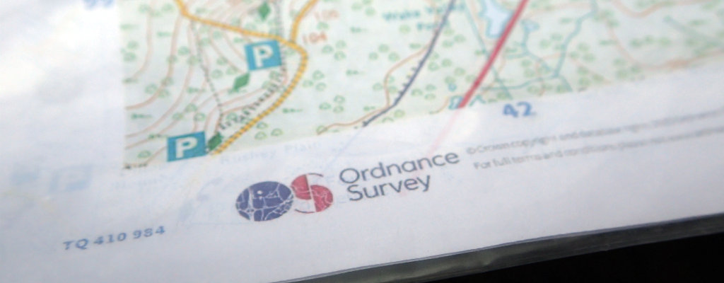 Map printed from OS Maps